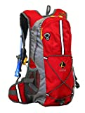Ledge Sports Jem Hydration Pack (Red), Outdoor Stuffs