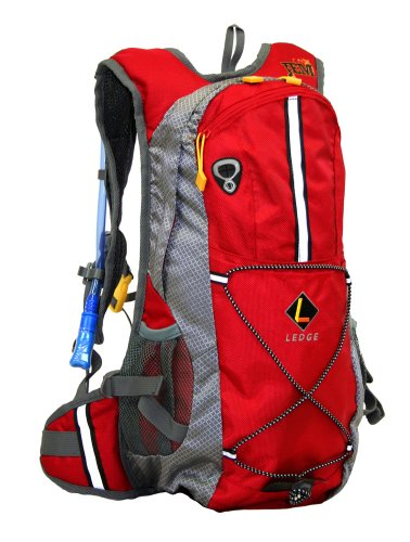 Ledge Sports Jem Hydration Pack (Red)