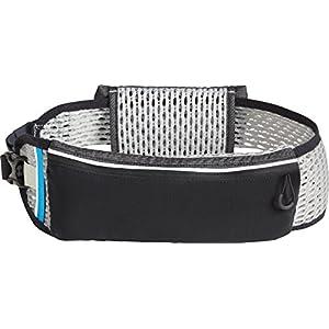 CamelBak Ultra Belt Quick Stow Flask Hydration Waist Pack, Black/Silver, Medium/Large