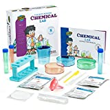 Learn & Climb Science Kit for Kids Ages 5 Plus. 8 Chemistry Experiments