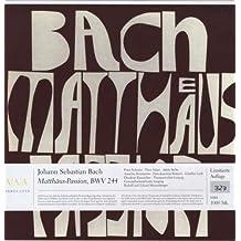 BACH:MATTHÄUS-PASSION (Vinyl)