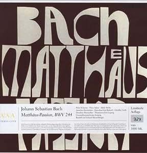 Bach:Matthaeus-Passion [Vinilo]