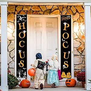 Whaline Hocus Pocus Halloween Banner Interior/Exterior ...