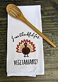 Best Home Essentials Hand Towels - Vegetarian Print Thanksgiving Kitchen Towel, hand Towel, Tea Review