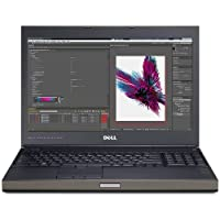 Dell Precision M4800 15.6 QHD (3200x1800) Business Laptop NoteBook (Intel Ci7-4810MQ, 32GB Ram, 1TB HDD + 512GB SSD, Nvidia Quadro K 1100M, HDMI, Camera, DVD-RW, B.T) Win 10 (Certified Refurbished)