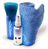 Screen Cleaner Kit with Spray, Cloth and Brush – Best Apple Laptop, Iphone, Ipad, Imac, Kindle Fire, Galaxy, Tablet, Computer Monitor, Smart Phone or Dirt-free Flat Screen, HD, Plasma TV, Clean PC or Mac, 3D, LCD, GPS, Xbox 360, and Keyboard, Best Gadgets