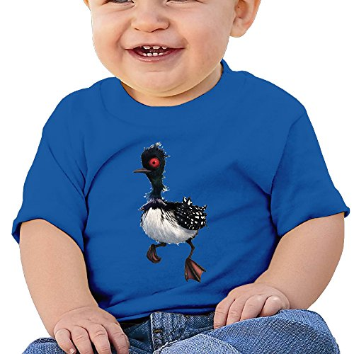 TAYC Finding Loon Beky New Design Infant Cotton T-Shirts RoyalBlue 24 Months