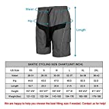 Santic Men's Mountain Bike Shorts Loose-fit Coolmax