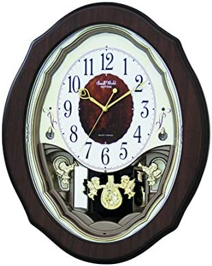 Rhythm Clocks Precious Angels Musical Motion Clock