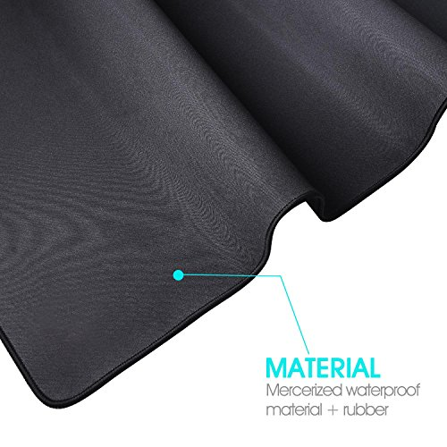 Havit Extended Large Gaming Mouse Pad, Non-Slip Rubber Base-36'' X 16'', 3mm Thick, Black (HV-MP855) by Havit (Image #5)