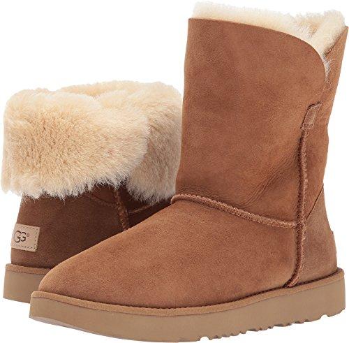 Classic Chestnut Ugg Short Boots (UGG Women's Classic Cuff Short Winter Boot, Chestnut, 6 M US)