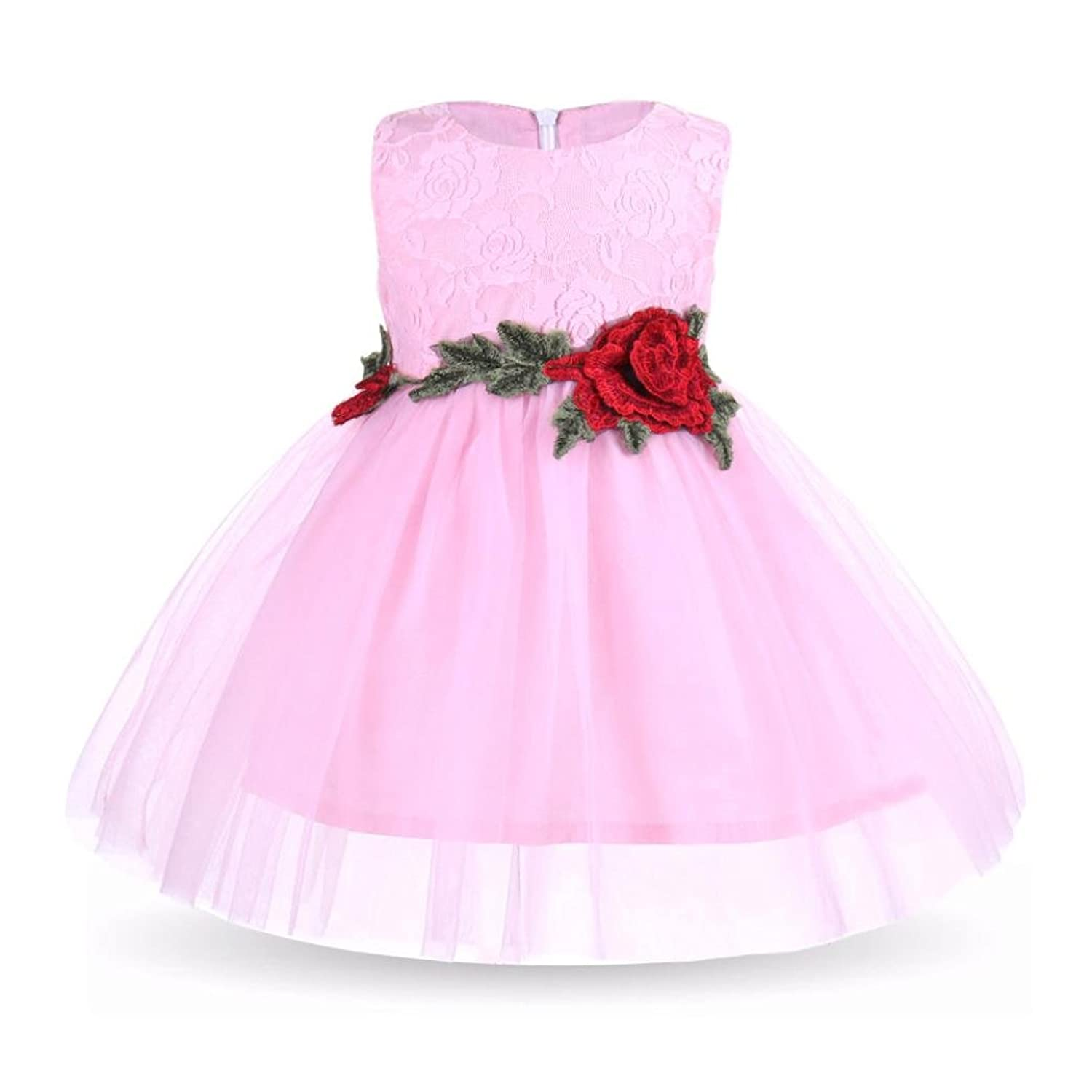 Sunbibe 1-5 Years Old Toddler Outfits Baby Princess Dress Girls Cute ...