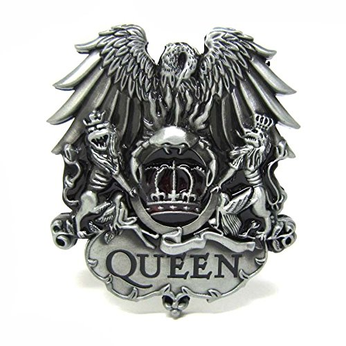 Classic Rock Music Band Queen King Crown Belt Buckle Mens Vintage Lion Eagle