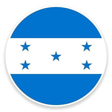 2 x bandera Honduras tarjeta adhesivo de vinilo para ordenador portátil viaje equipaje coche Panel iPad