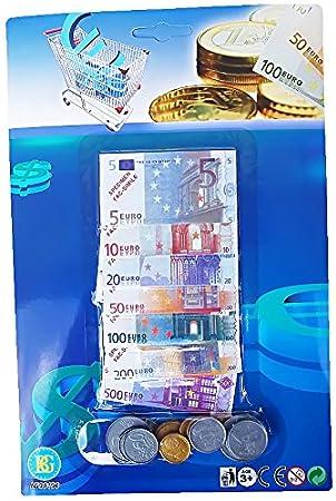 Spielgeld Set Euro Scheine Und Münzen Kaufladen Kasse Spiele Für