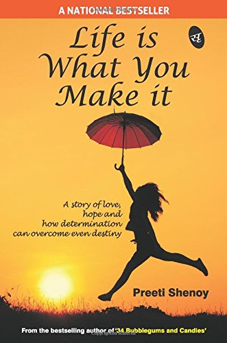 51QwzwZdOKL - Life is What You Make it Book for Rs 33 (78% off)