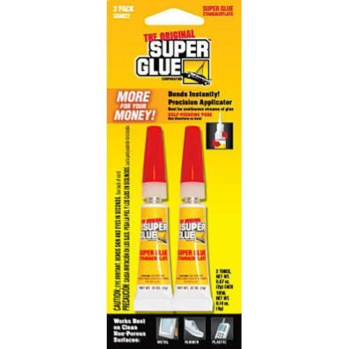 Pacer Tech SGM22-12 Original Super Glue Bonds Metal, Aluminum, Rubber, Most Plastics, Ceramics, China, Wood, Pottery, Jewelry by Super Glue