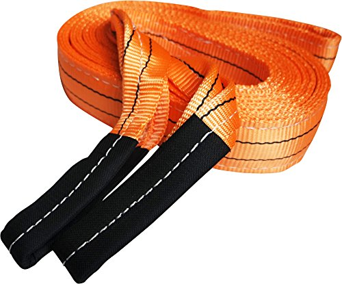 Heavy Duty Recovery Strap | For Off-Road Recovery and Towing