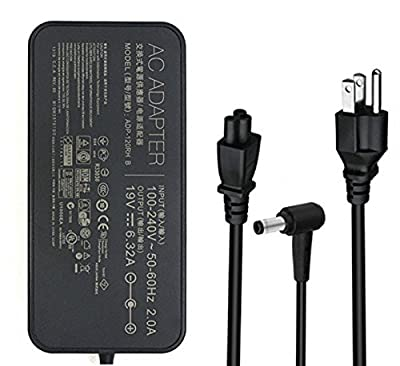 19V 6.32A 120W AC Adapter for ASUS K53SV N46 N56 N76 G74SX ADP-120ZB BB PA3290E-3AC3 PA-1121-04 PA-1121-28 Laptops Power Charger