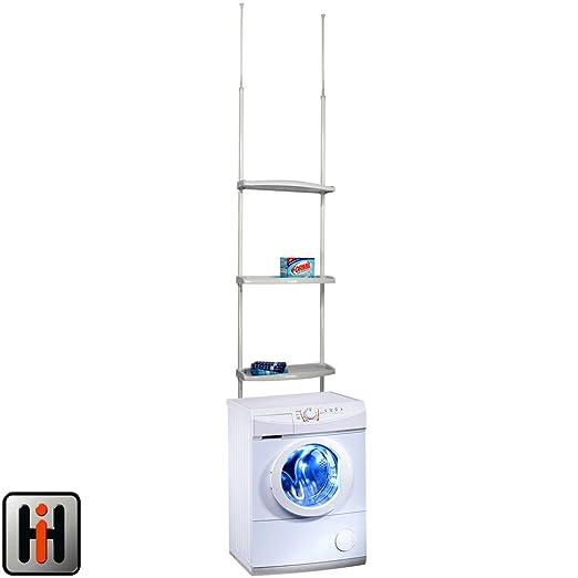 Hummelladen Lavadora Estantería, Altura Regulable: 170 - 275 cm ...