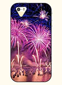OOFIT Phone Case design with Gorgeous Firework for Apple iPhone 5 5s 5g