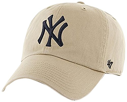 '47 Brand New York Yankees Khaki Cleanup Adjustable Hat