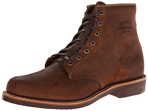 Original Chippewa Collection Men's 1901M84 6 Inch Service Utility Boot, Brown Bomber Distressed, 12 D US (Chippewa Service Boot compare prices)