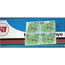 Kenya Airport, 4 tax stamps, 20 c , stamps from Kenya