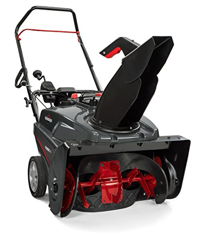 Briggs & Stratton 1696847 Single Stage Snowthrower Snow Thrower, 208cc