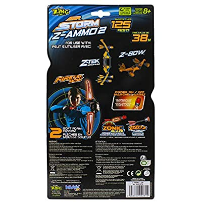 Air Storm Z-Ammo Refills - 24 Extra Arrows: Toys & Games