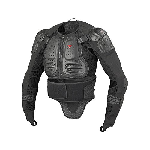 Dainese Light Wave D1 Mens Body Protection Armor Jacket Black Type 1, XS by Dainese