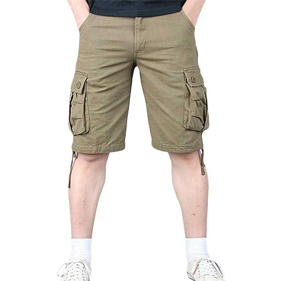 FELZ Pantalones de Trabajo, Pantalones de Trabajo Multibolsillos Tallas Grandes para Hombre: Amazon.es: Ropa y accesorios