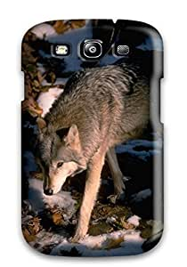 New Arrival ZYTRPEW736BVdEw Premium Galaxy S3 Case(wolves Animal)