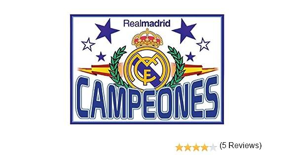 Real Madrid Bandera Campeones. 150 x 100 cm. Producto Oficial ...