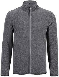 Men's Fleece Jackets with Full Zipper Soft Thick Zip Up Polar Fleece Casual Outwear