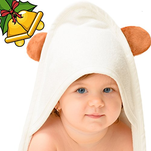 baby bath towels with hood - 6