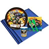 Monster Jam Party Supplies - Party Pack for 8 Guests