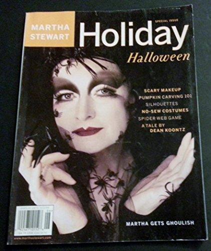 Martha Stewart Holiday Magazine 2000, Halloween Special (Martha Stewart Living Halloween Issue)