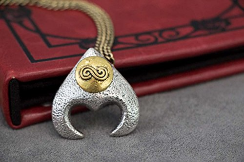 Labyrinth Pendant - Goblin King Jareth's Necklace Pendant Replica from the Labyrinth Movie