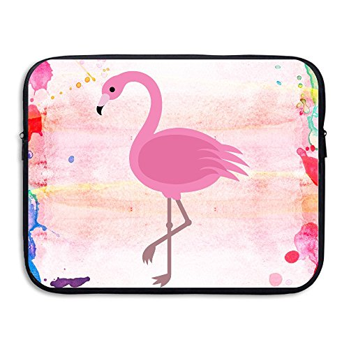 Custom Fashion Pink Flamingos Water-resistant Laptop Zipper Case Bag 13 Inch (Nerd Office Supplies compare prices)