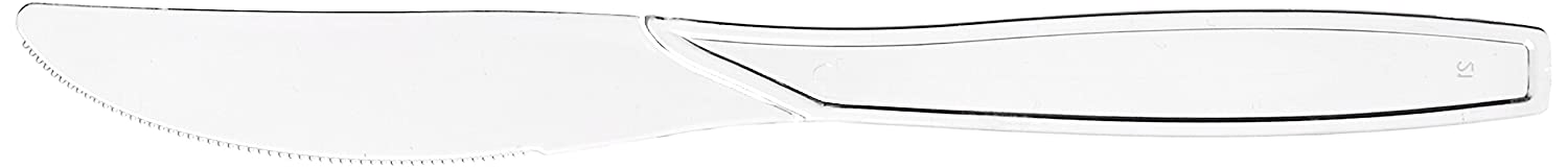 Clear  1200 Pieces Fine Line Settings Inc 2517-CL Fineline Settings Extra Heavy Cutlery Knives