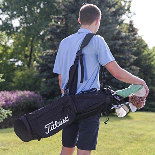 - Titleist Sunday Golf Carry Bag Black/Black