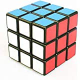 Topways reg; Shengshou 3x3x3 mágico cubo Intellengence Ninos Educacion Herramientas Magic cube Juego de Puzzle cube 57mm (negro base)