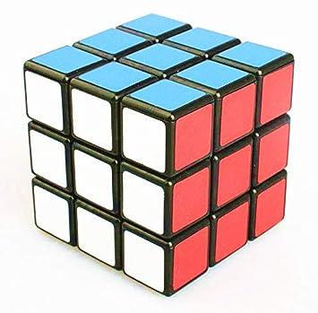 Topways® Shengshou 3x3x3 57mm Schwarz Denkaufgabe Magic Cube Lustige Educational Frosted Kunststoff-Magic Cube Puzzle (Schwarz)