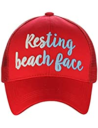 67eb81022a699 Ponycap Color Changing 3D Embroidered Quote Adjustable Trucker Baseball Cap