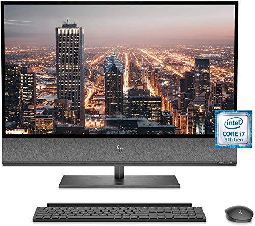 "HP Envy 32 Desktop 2TB SSD 64GB RAM Extreme (Intel Core i7-9700K Processor 3.60Ghz Turbo Boost to 4.90GHz, 64 GB RAM, 2 TB SSD, 32"" 4K UHD (3840 x 2160), Win 10) PC Computer All-in-One"