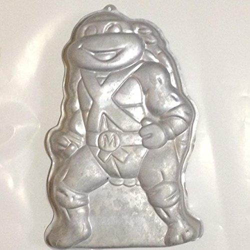 Wilton Cake Pan: Teenage Mutant Ninja Turtles (2105-3075, 1989) -