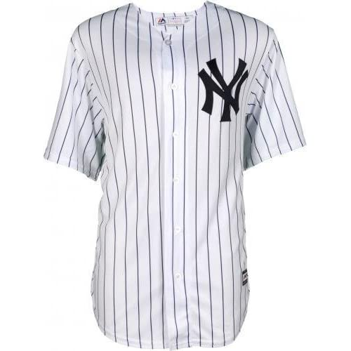 4e8d5bc3a Framed Aaron Judge New York Yankees Autographed Majestic White Replica  Jersey - With Nameplate on Back