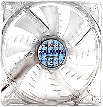 Zalman ZM-F3 - Ventilador led para Caja de Ordenador (3 Pines, 120 mm), Color Azul: Amazon.es: Informática