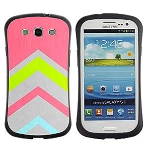 "Pulsar iFace Series Tpu silicona Carcasa Funda Case para SAMSUNG Galaxy S3 III / i9300 / i747 , Gris azul del trullo Rosa Verde"""